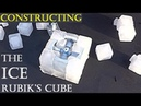 How I made my ICE Rubik's Cube genuine frozen water puzzle by Tony Fisher
