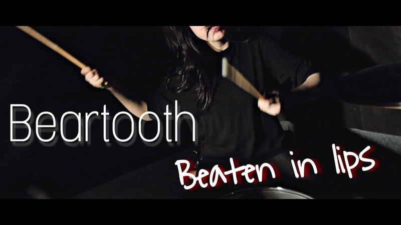 Beartooth - Beaten In Lips. DRUM COVER by Sereda Anastasiya