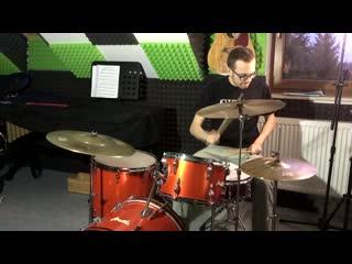 Amati - 70s Vintage Drum Set (Beech) Centent XTT B20 Cymbals