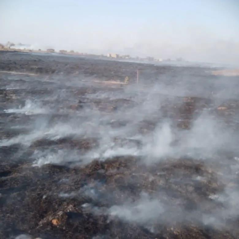 Сегодня в Петровском районе произошло два пожара