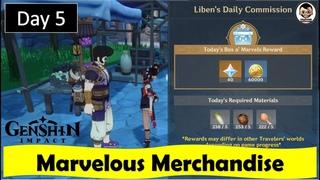 Marvelous Merchandise - Day 5 | Genshin Impact