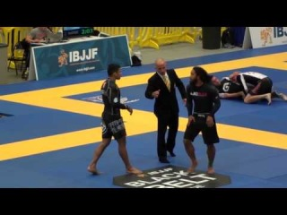 Benson Henderson vs. Marcelo Mafra:  2014 No-Gi Worlds