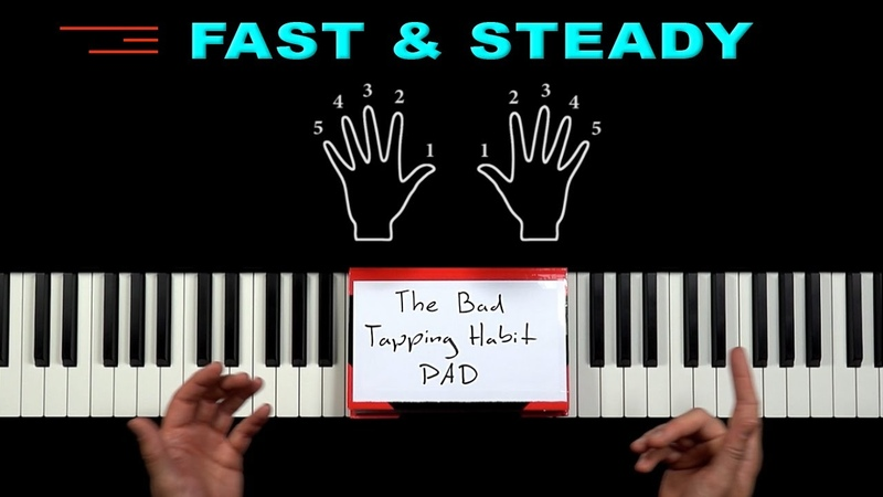 The SECRET to become FAST STEADY on the PIANO