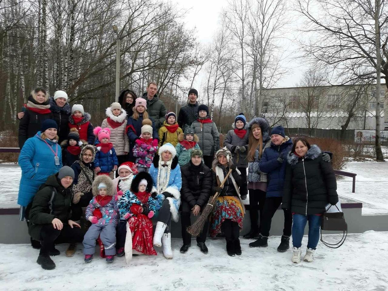 Новогодний праздник для детей от ПСГ Рысь - Арзамас.