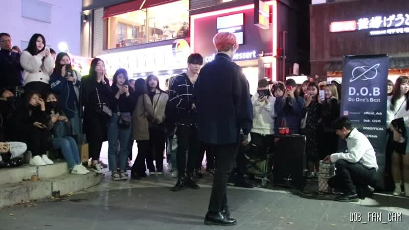 DOB 디오비 191101 홍대공연 1차 SEVENTEEN 세븐틴 HIT 히트 이태영 solo