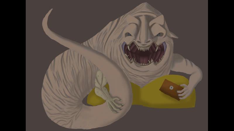Рисуем босса дарксоус алчный демон с лоускилом стрим 6