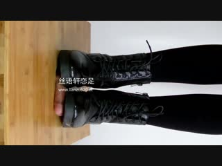 Chines cock trample / foot fetish