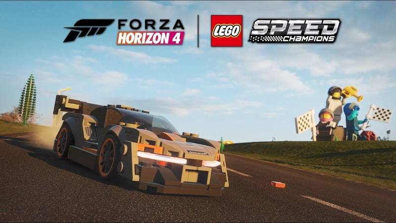 Forza Horizon 4 LEGO Speed Champions McLaren Senna