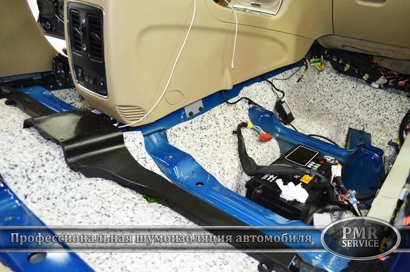 Шумоизоляция Jeep Grand Cherokee, изображение №8