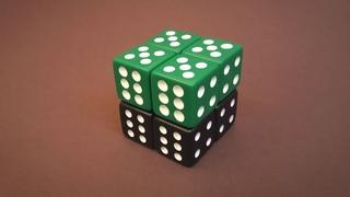 Бесконечный КУБ 2020 из игральных кубиков | Простая схема сборки Антистресс Infinity CUBE
