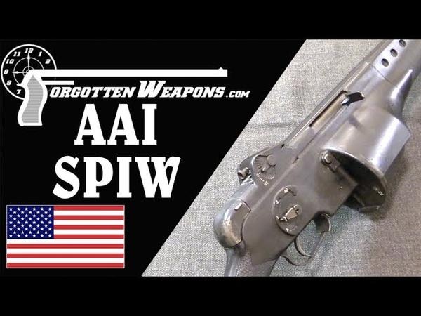 AAI 2nd Gen SPIW Flechette Rifles