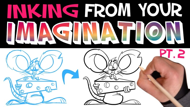 How to INK Let's Draw Episode 26 Pt 2