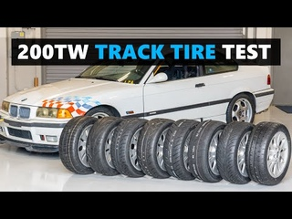 Ultimate Track Day Tire Test! What are the BEST 200TW Tires to Use on Track?