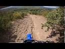 Путь на плато Чатыр-Даг, Ангар-Бурун, эндуро Yamaha TTR250