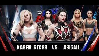 WWE MainEvent 2020 (Karen Starr Vs Abigail)