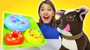 Игры готовка в шоу Как мама. Готовим пончики для Шоколадки! Игры для девочек с Плей до