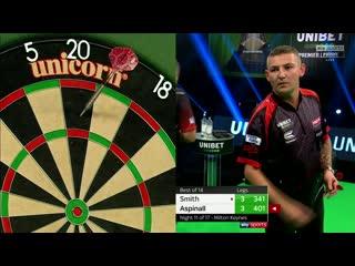 Michael Smith vs Nathan Aspinall (PDC Premier League Darts 2020 / Week 11)