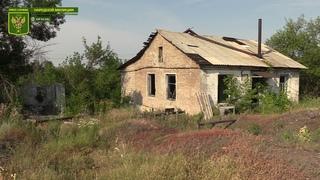 Обстановка в районе Золотого-5. Украинские боевики используют БЛА