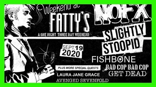 NOFX - Weekend at Fatty's set - White Trash Two Heebs and a Bean
