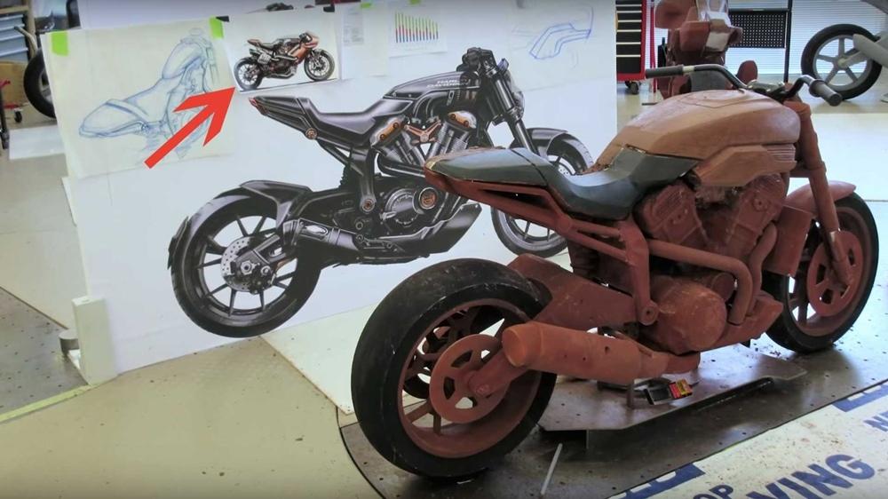 Компания Harley-Davidson разрабатывает спортбайк?!