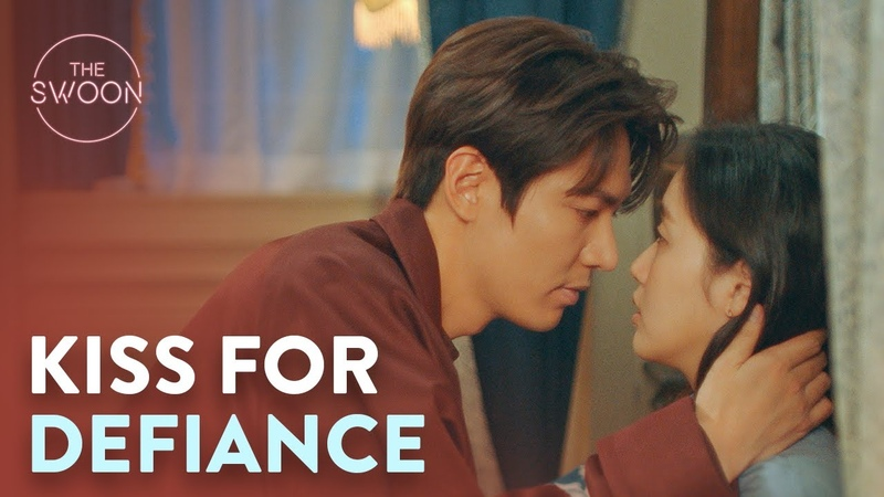 Kim Go eun defies Lee Min ho and gets a kiss The King Eternal Monarch Ep 12 ENG SUB