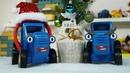 Синий трактор vlog Злой двойник испортил праздник Новый год