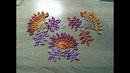 Вязание ажурного мотива по схеме. Ирландское кружево. Часть 1. Knitting openwork motif scheme