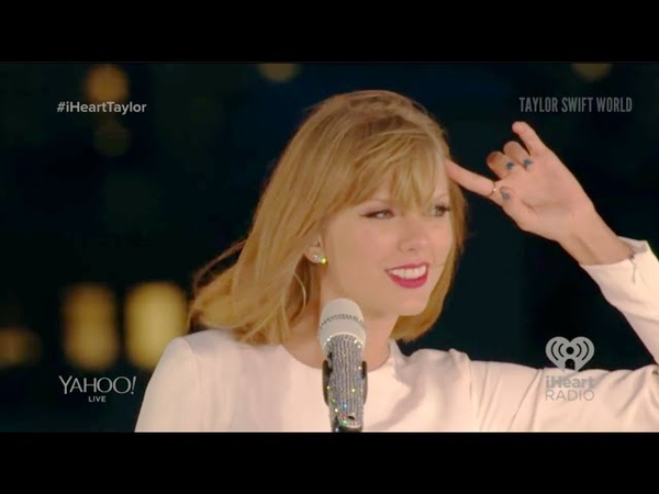 Taylor Swift Out Of The Woods live at 1989 Secret Session with iHeartRadio 2014 10 27