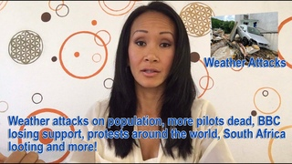 Weather attacks on population, more pilots dead, BBC losing support, South Africa looting and more!