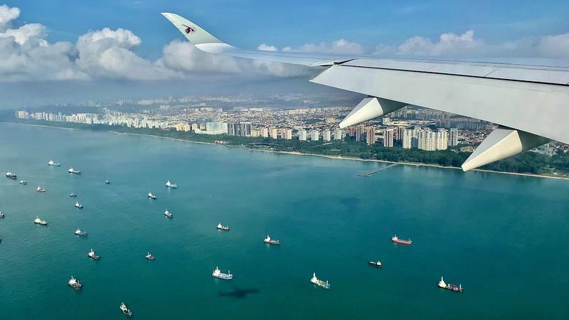 Qatar Airways Airbus A350-1000 🇫🇷 Paris CDG ✈️ Singapore Changi 🇸🇬 via Doha 🇶🇦 [FLIGHT REPORT]