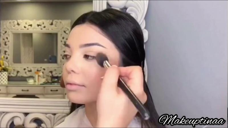 Вечерний макияж от Тины Тевосян💄 Երեկոյան դիմահարդարում Թինա Թևոսյ