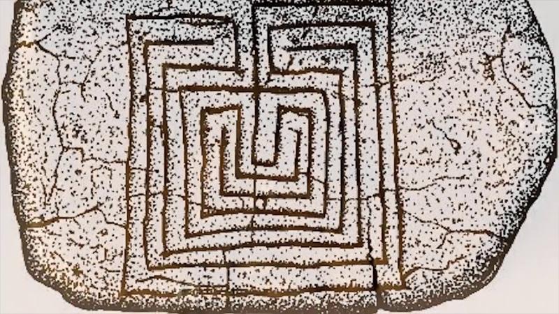 Загадочные древние лабиринты ТОП 10 Головоломки Символы Лабиринт Минотавра КасаГранде Шартра Иерихон