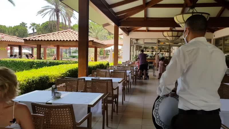 Главный ресторан Akka Alinda 2020
