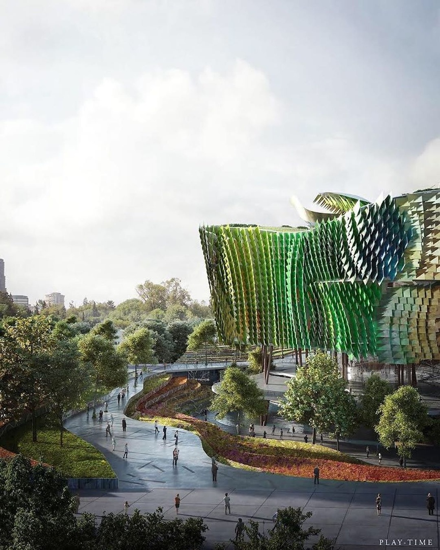 Science and Technology museum Xingati in China by embtarchitects