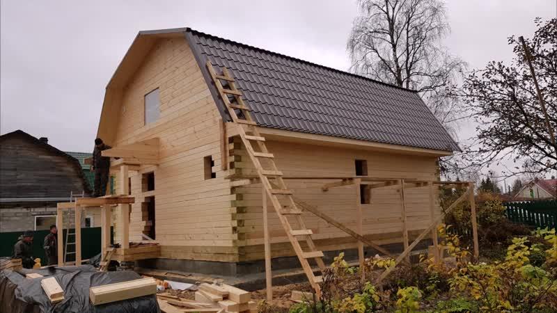 дом от фундамента до готового жилища от House Stroy