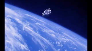 First Astronaut to Fly a Jet Pack in Space (When We Left Earth)