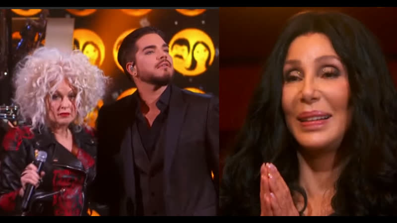 Cher Tribute Adam Lambert and Cyndi Lauper FULL