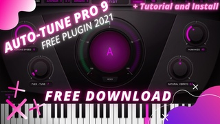 How to free Install🔥AUTO-TUNE PRO 9 (MAC OS/ WINDOWS) Download 2021