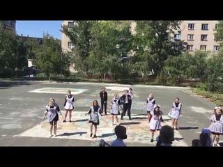 """МАОУ """"СОШ №7""""  Флешмоб - 11 А класс"""