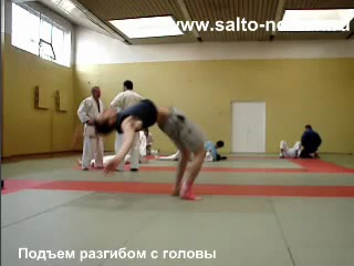 ◯╚╗ Начальная акробатика. Подъемы разгибом и переворот (Nomah)