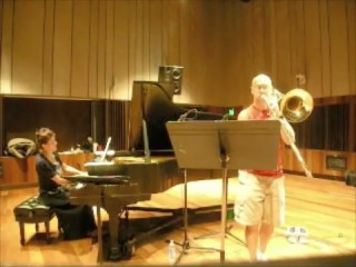 Randy Hawes, Bass Trombone, Kathryn Goodson, Piano: Fauré's Lydia