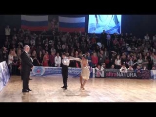 MIHAI & DIANDRA - MOSCOW - IDSF WORLD JUNIOR II LATIN 2011 - FINALIST SOLO`S PRESENTATION