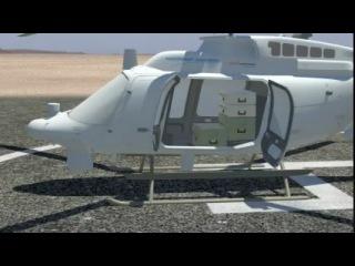 """Беспилотный летательный аппарат """"Fire-X"""", созданный на базе вертолёта Bell 407"""