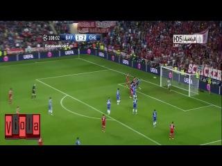 Невероятные сейвы Петра Чеха в матче Бавария - Челси