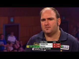 Robert Thornton vs Scott Waites (Grand Slam of Darts 2013 / Semi Final)