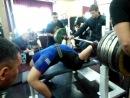 Найманбаев Закир - жим лежа 260 килограммов
