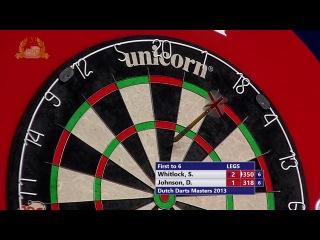 Simon Whitlock vs Darren Johnson (Dutch Darts Masters 2013 / First Round)