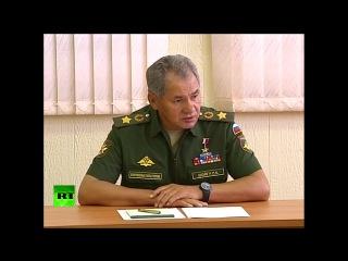Шойгу поручил Российским миротворцам подтянуть иностранные языки.