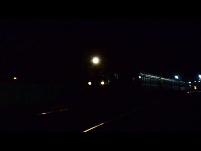 ЧМЭ3-5134 с поездом 6843 Запорожье-1-пологи-Бердянск и приветливый помоха