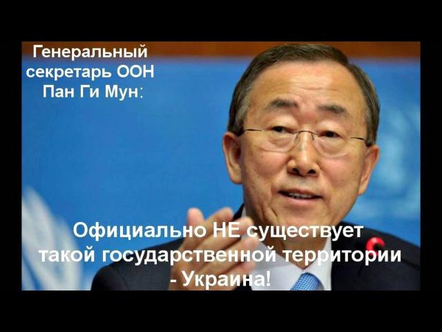 Липовое членство РФ в ООН Имитация государства без территории